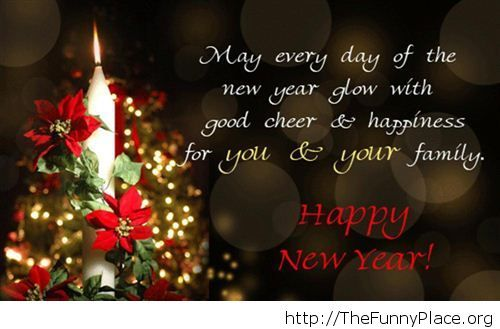Happy New year greeting card image 2015