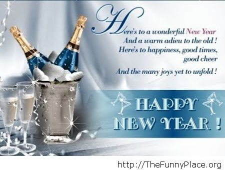 have a happy new year saying image