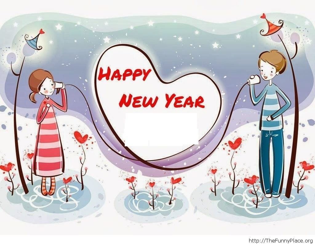 Love greeting card for 2015
