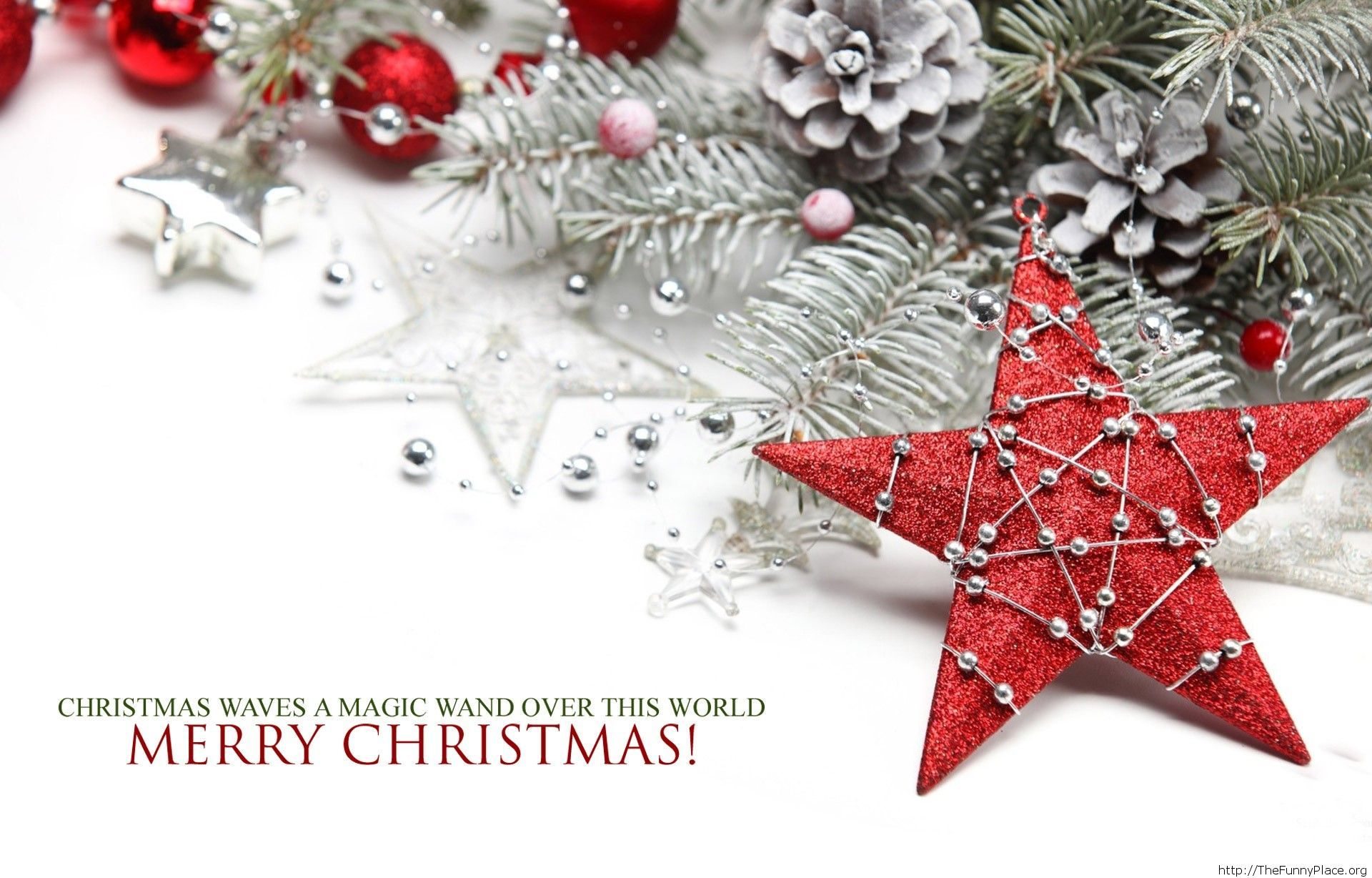 Magic saying Christmas 2014