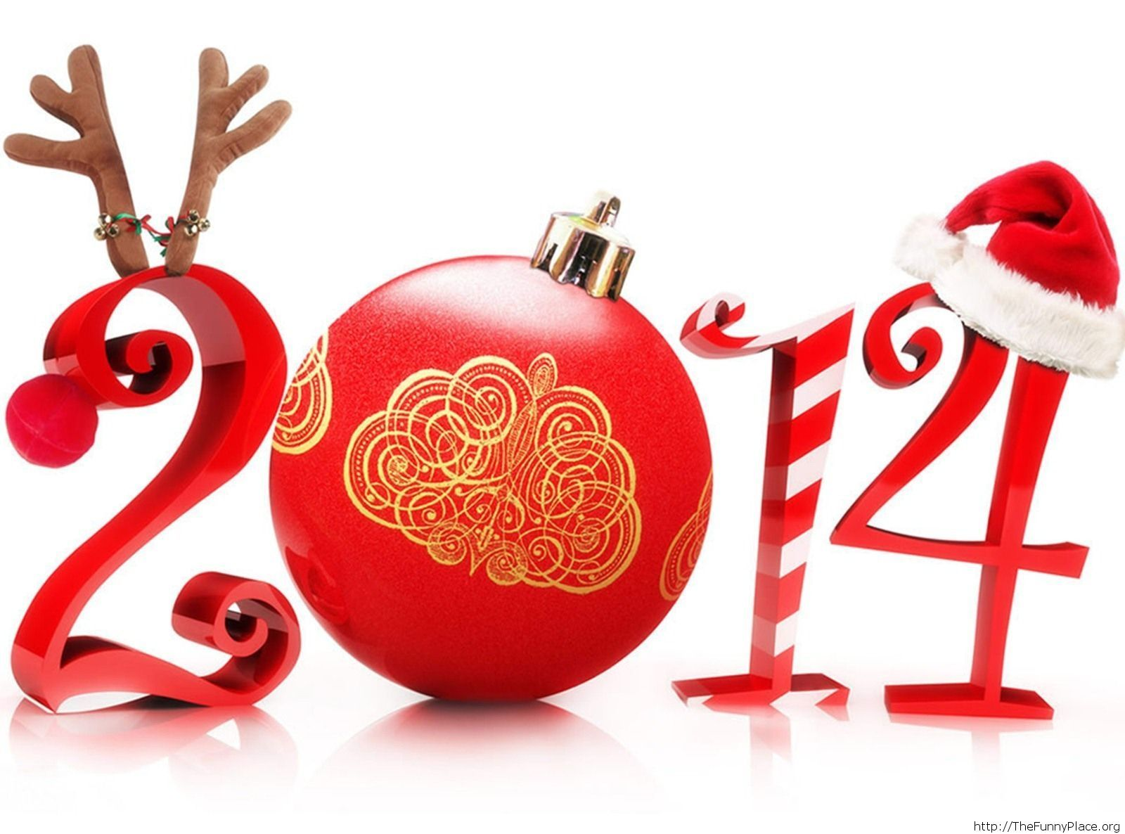 Merry Christmas 2014 HD wallpaper