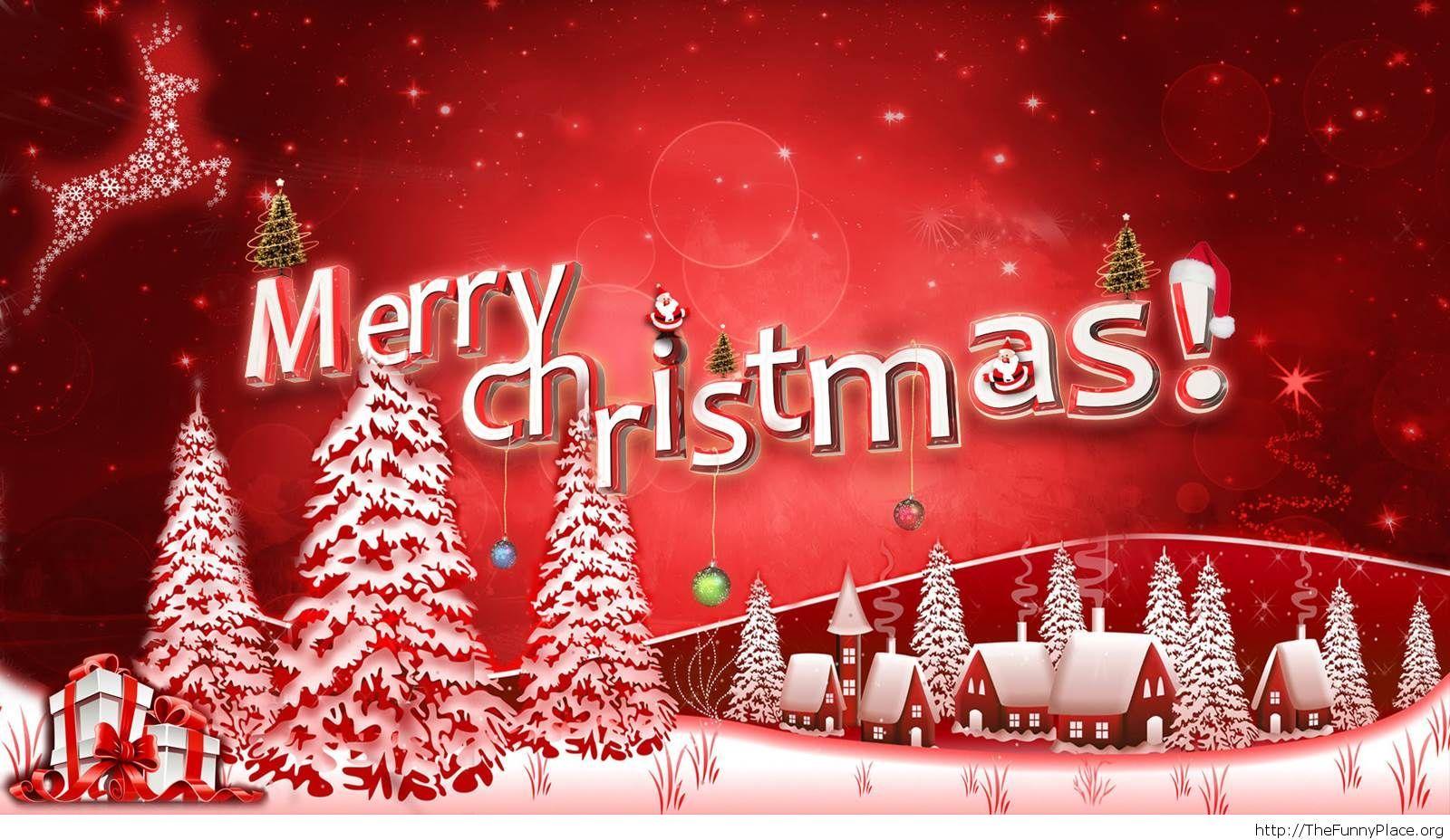 Merry Christmas beautiful image 2014