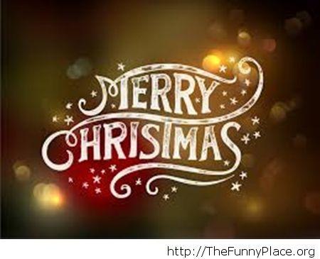Merry Christmas beautiful wallpaper 2014