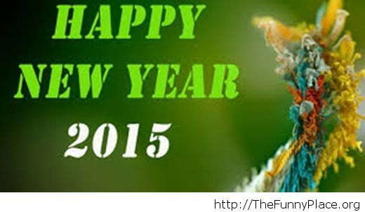 Nature wallpaper Happy New Year 2015