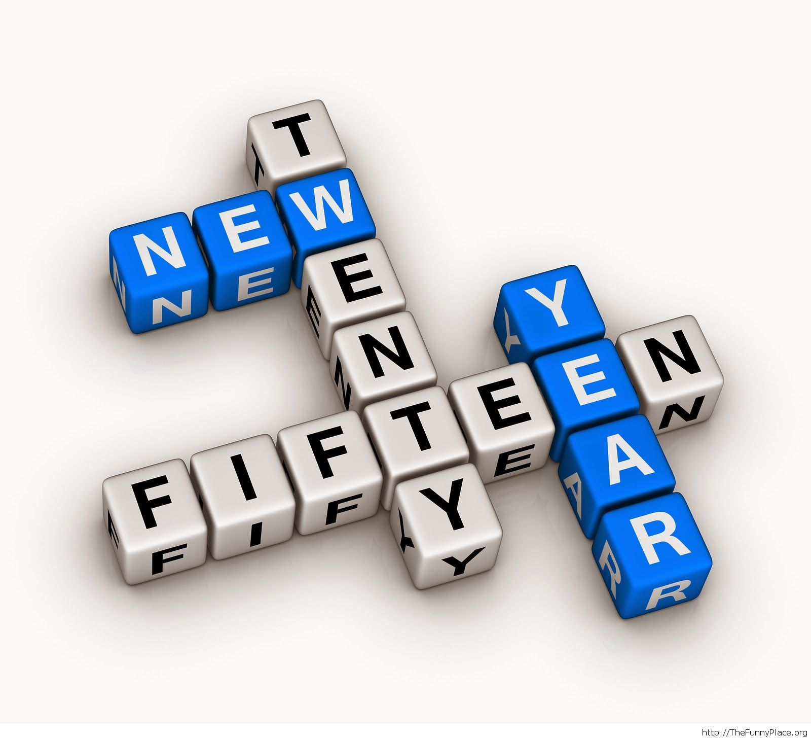 New Year 2015 words wallpaper
