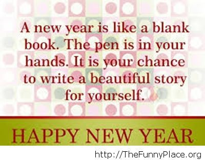 new year saying book image