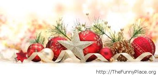 Stars Christmas decorations wallpaper