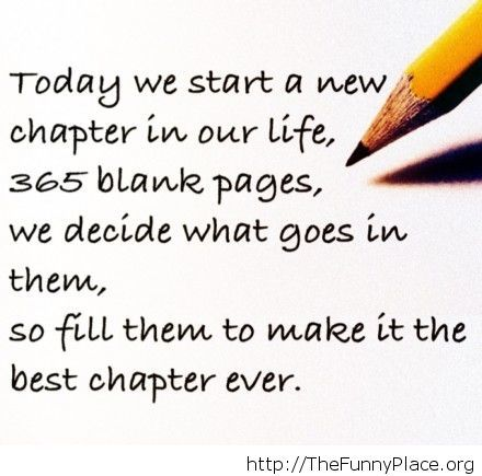 Starting the New Year quote – TheFunnyPlace