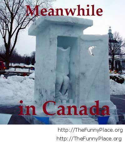 Winter in Canada wallpaper