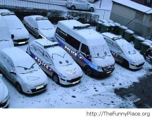 Winter vandalism image