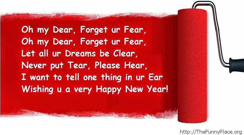 Wishing a Happy New Year image