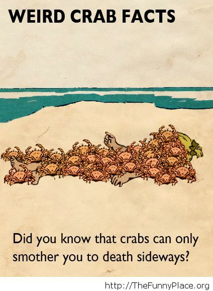 A funn crab fact