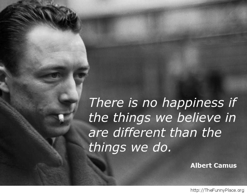 Albert Camus - Happiness