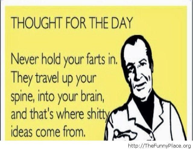 All those bad ideas...
