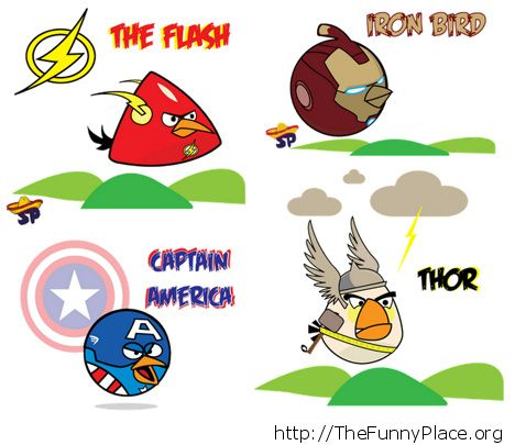 Angry birds - Heroes