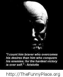 Aristotle - About bravery