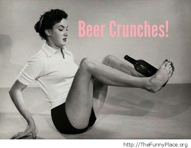 Beer crunches