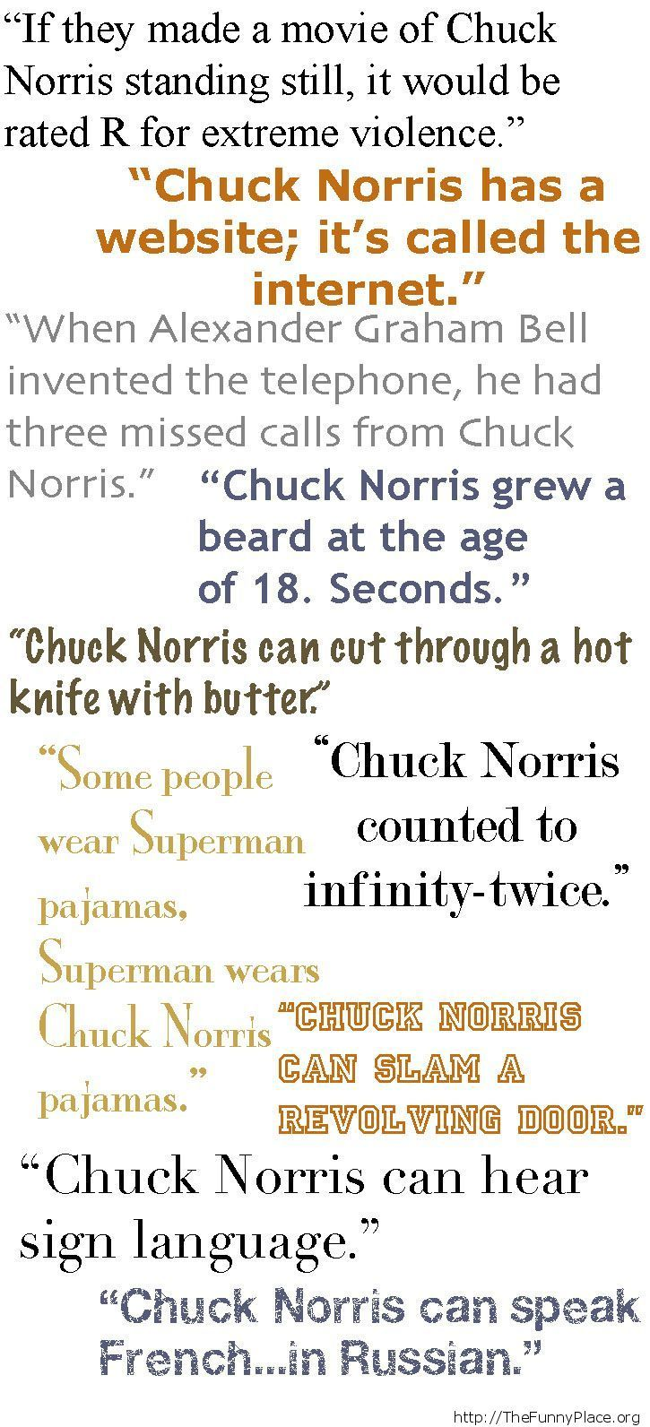 Chuck Norris - About