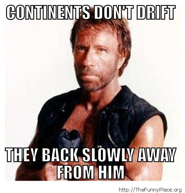 Chuck Norris - Continents