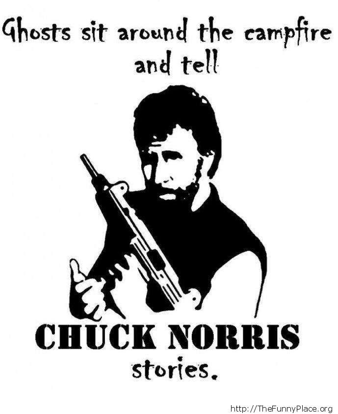 Chuck Norris - Ghosts stories