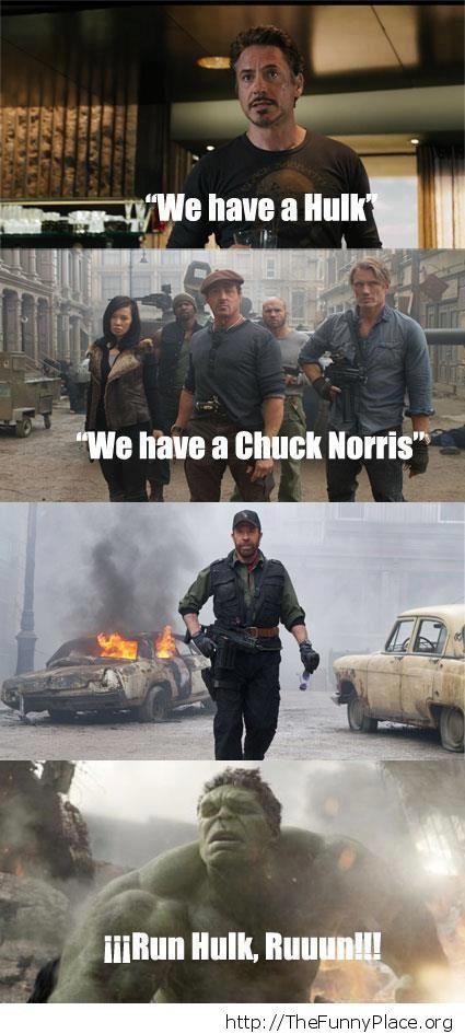Chuck Norris vs Hulk