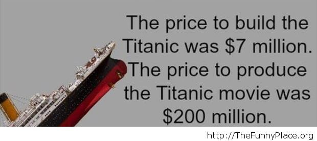 Cool fact about the Titanic