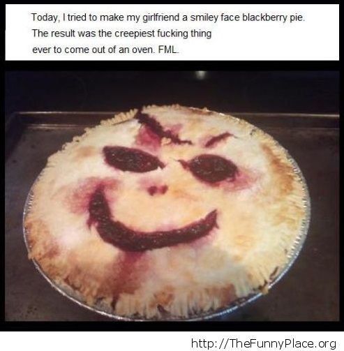 Creepy pie