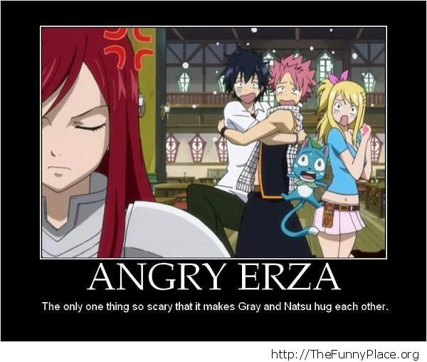Fairy Tail - Angry Erza