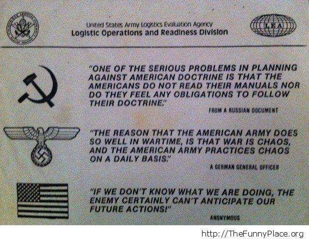 Funny american army