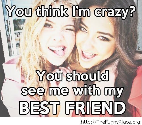 Funny saying about best friends