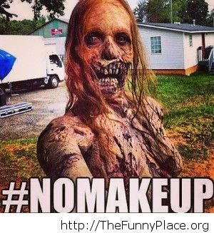 Girls without make up these days