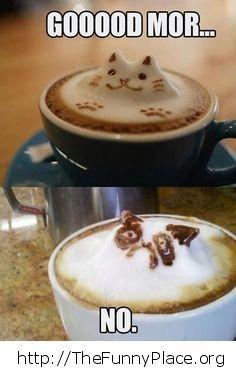 Grumpy Cat - Art Coffee