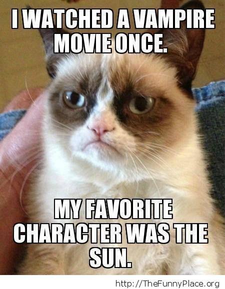 Grumpy Cat - Favorite character