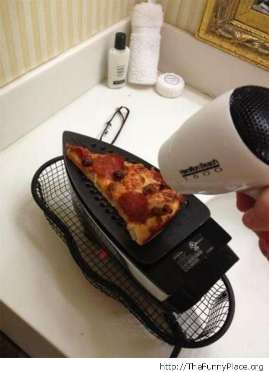 How to use a hair dryer in the kitchen