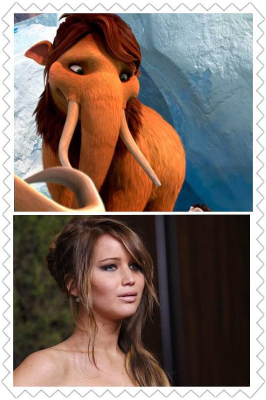 I knew that I had seen her before
