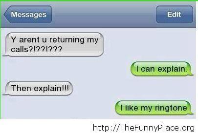It is a nice ringtone