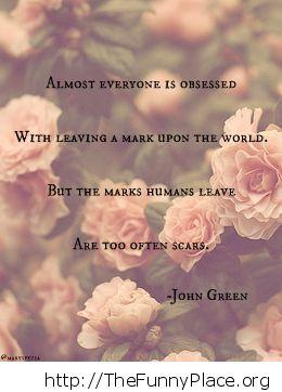 John Green - Scars