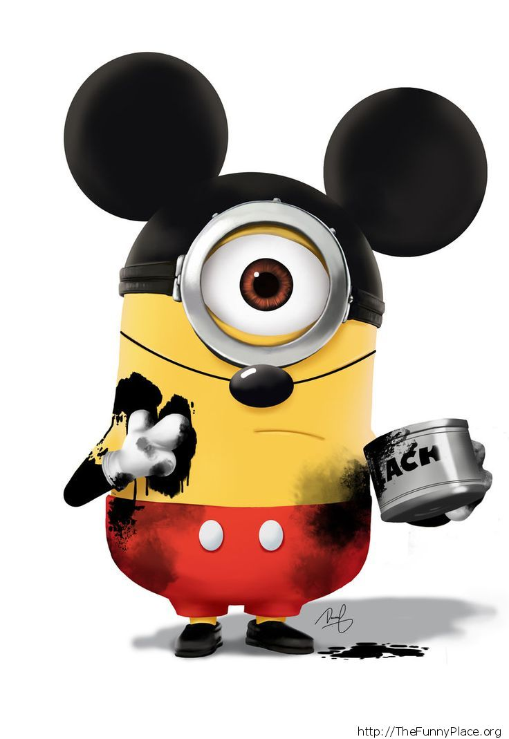 Mickey Mouse Minion Thefunnyplace