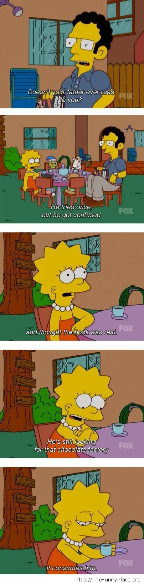 Simpsons and the Chocolate Factory