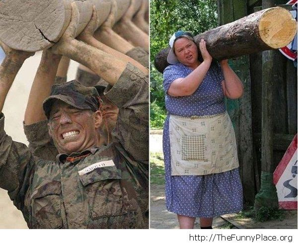Special Forces vs Mommy