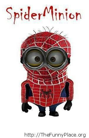 Minions - Spiderman