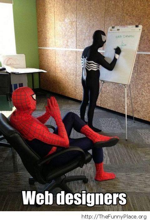 Spiderman - Venom designs
