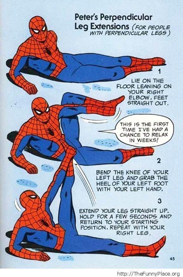 Superman Exercise Demonstration