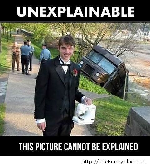 Unexplainable indeed