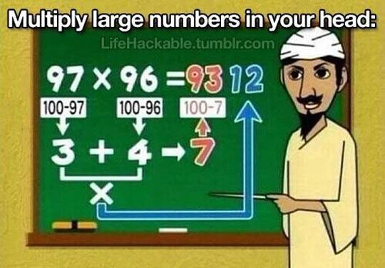 When I have difficulties with math