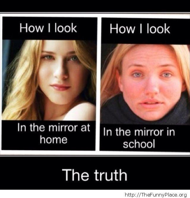 how i look at school