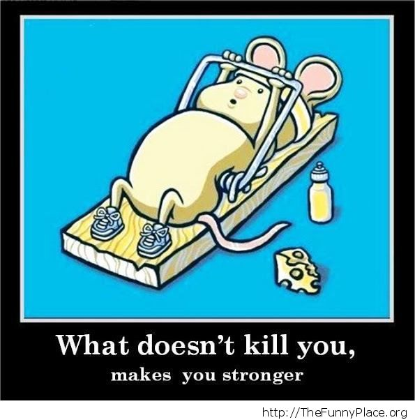 A strong mouse