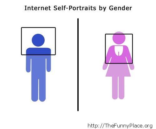 Boys vs girls selfies