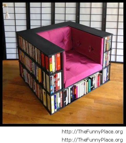 Cool shelf chair