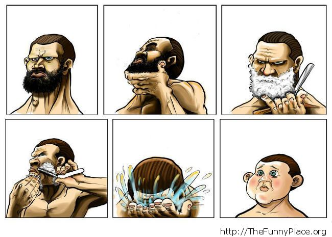 Don't shave it